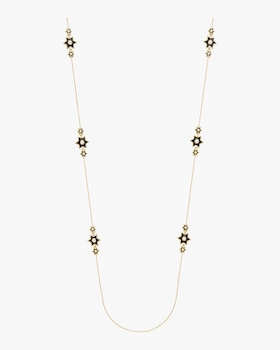 Enamel Icon Star Station Necklace