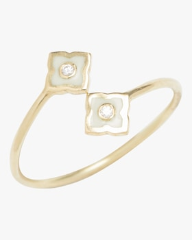 Enamel Icon Panashri Wrap Ring