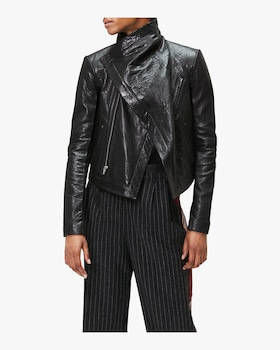 Max Classic Leather Jacket