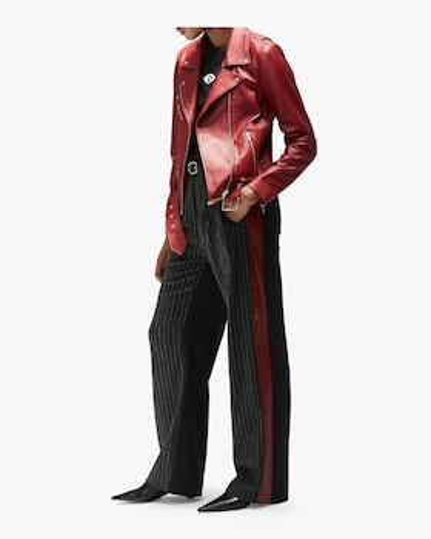 Jayne Smooth Leather Jacket
