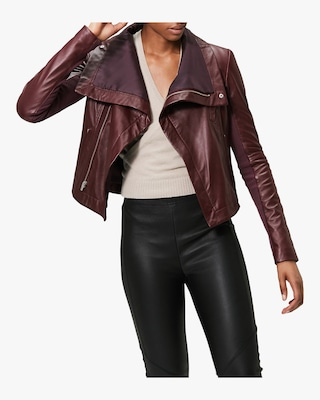 Max Smooth Leather Jacket
