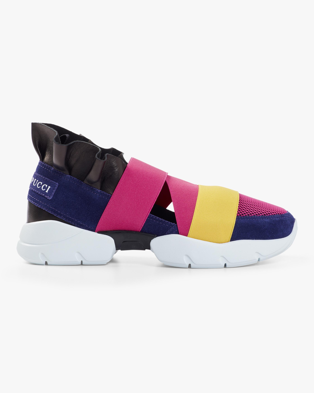 Ruffle Slip on Sneaker