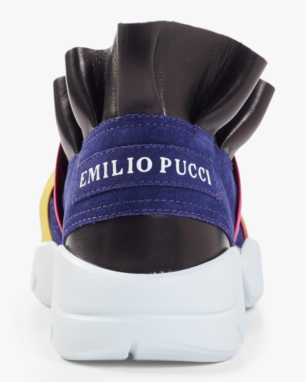 Ruffle Slip on Sneaker Emilio Pucci
