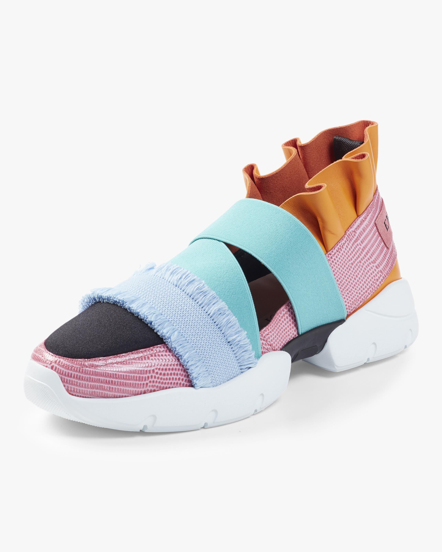 Frayed Slip on Sneaker