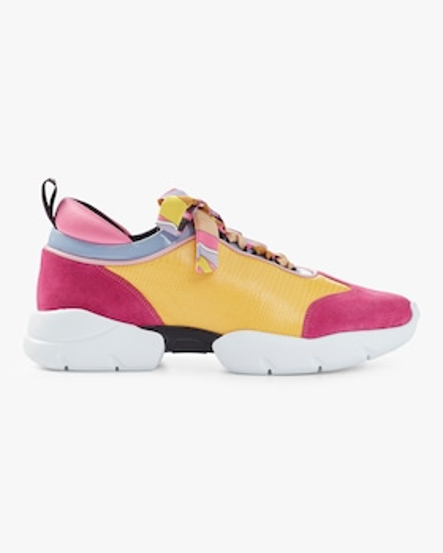 Scarf Lace Sneaker