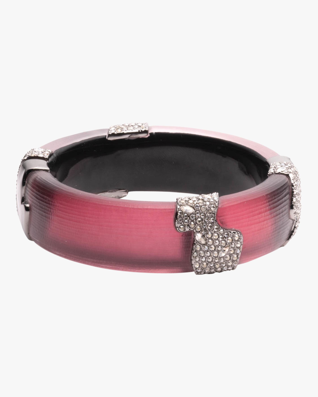 Crystal Encrusted Hinge Bracelet