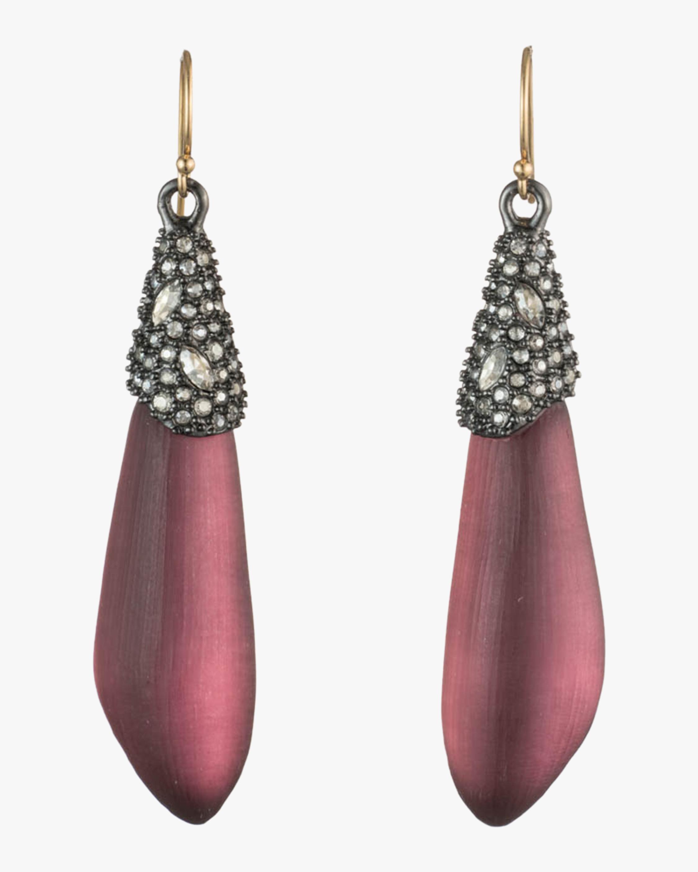 Crystal Encrusted Drop Earrings