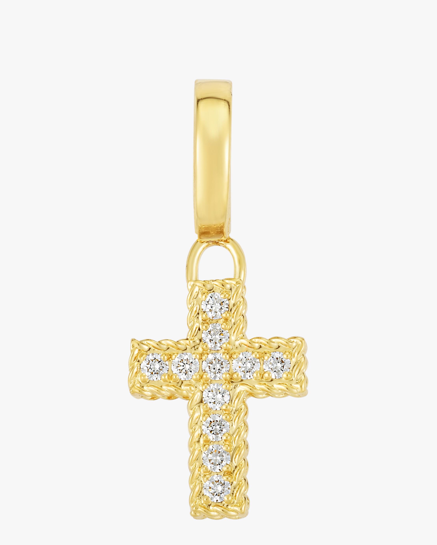 Diamond Pavé Cross Pendant