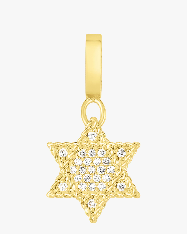 Diamond Pavé Star Of David Pendant