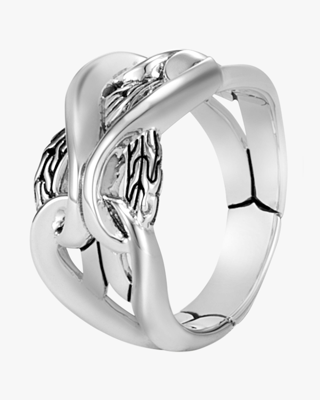 Asli Classic Chain Link Band Ring