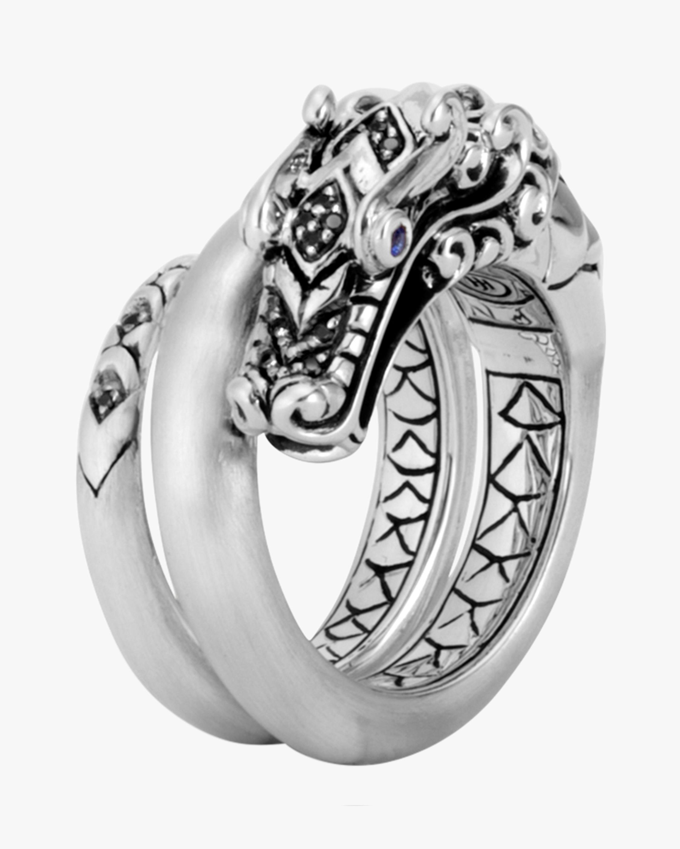 John Hardy Naga Black Spinel Ring 1