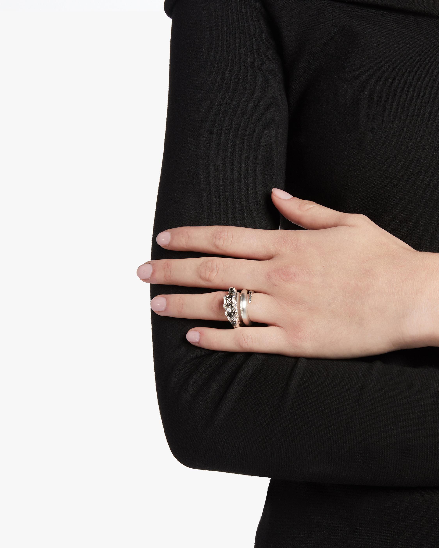 Naga Black Spinel Ring