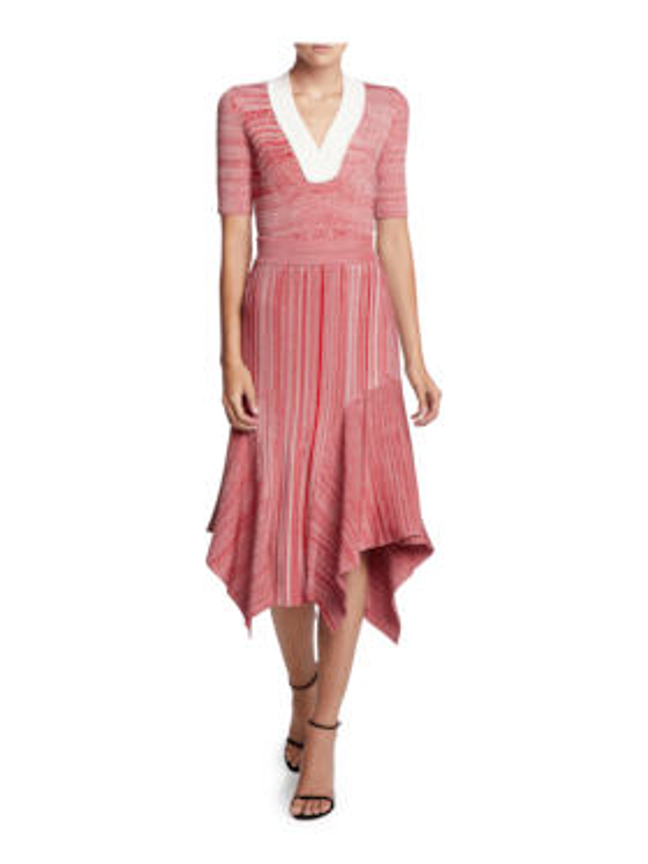 Melange Knit Skirt