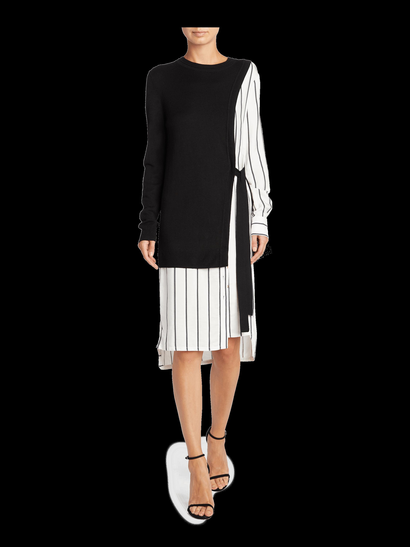 Silk Cashmere Knit Dress