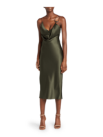 Cushnie Front Cowl Pencil Dress 2