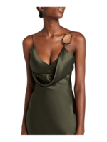 Cushnie Front Cowl Pencil Dress 3