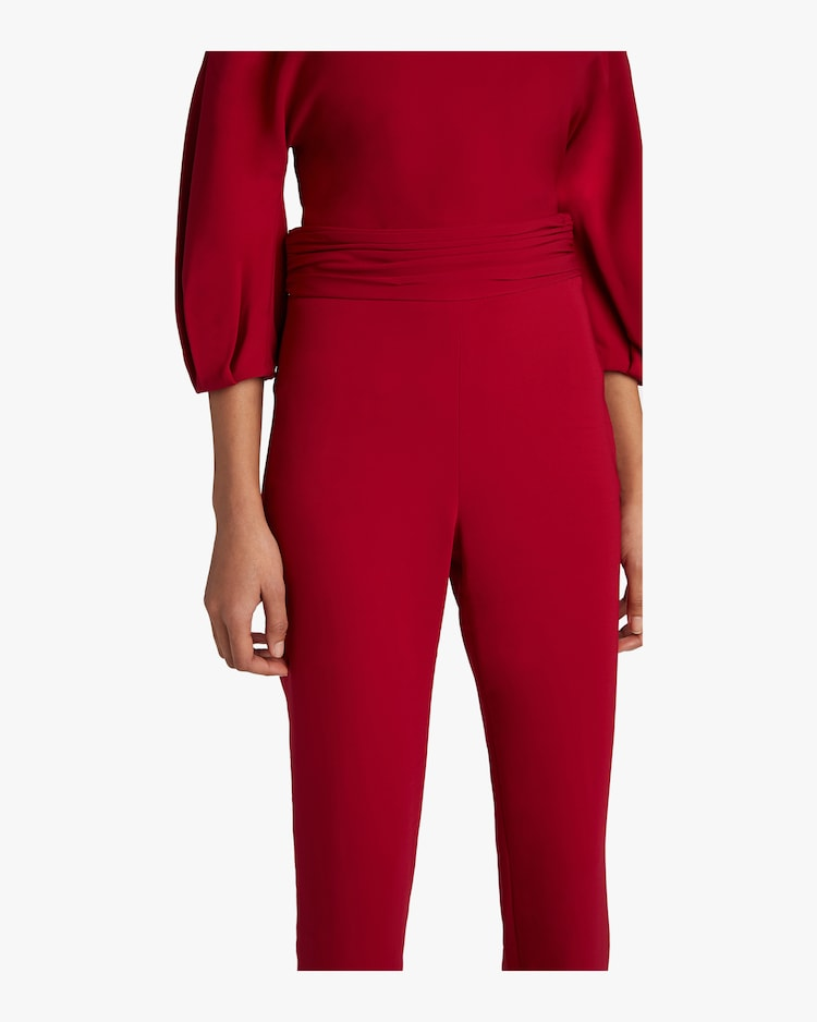High Waisted Fitted Pants Cushnie