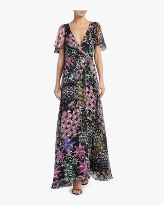 Claudette Wrap Dress