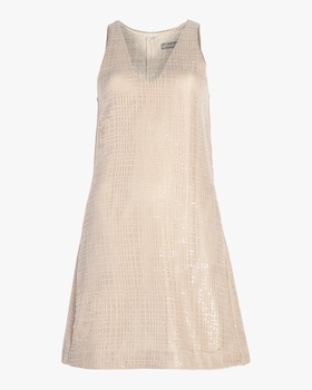 Sequin Trapeze Dress