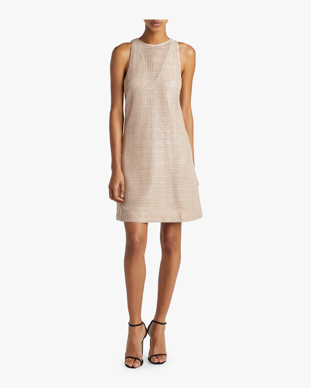 Sequin Trapeze Dress