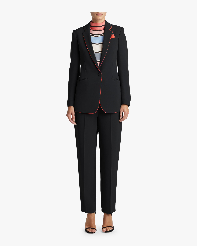 Blush Piping Suiting Jacket