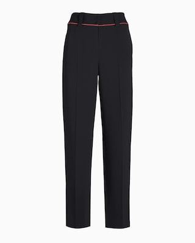 Blush Piping Suiting Pants