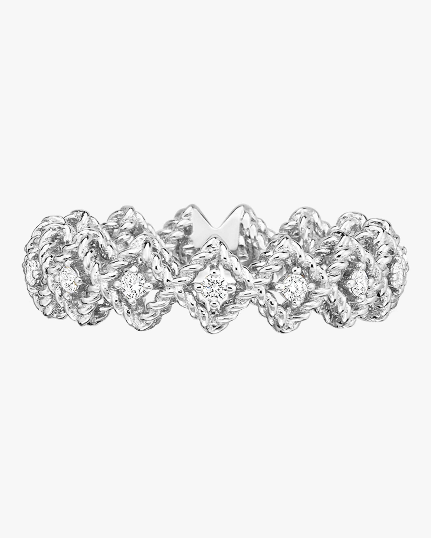 Single Row Diamond Band Ring