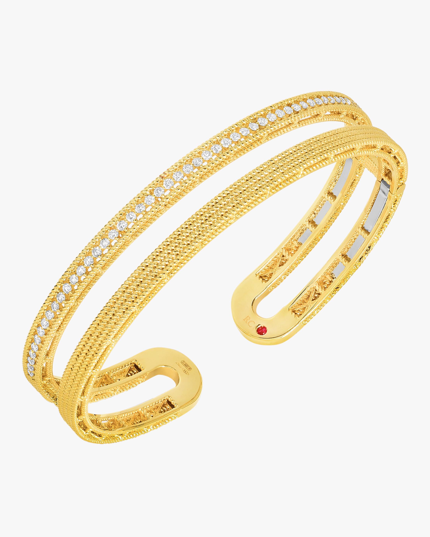 Symphony Barocco Diamond Bangle Bracelet