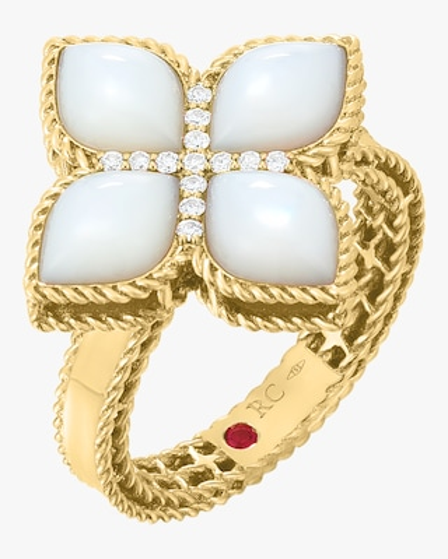 Roberto Coin Venetian Princess Diamond Ring 1